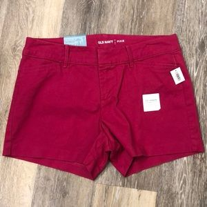 NEW- Old Navy Dark Pink Shorts - Size 2